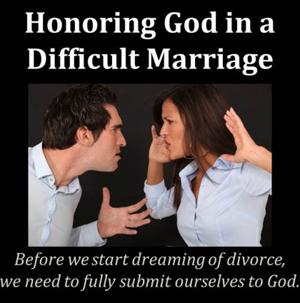 Honor In Marriage